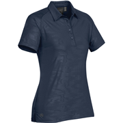 EPX-1W WOMEN'S TSUNAMI EMBOSSED POLO