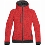 DFZ-1W Women's Donegal Reversible Hoody